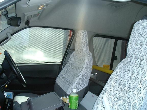 運転席横の写真。