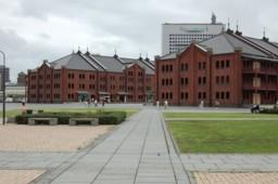 横浜赤レンガ倉庫の写真。